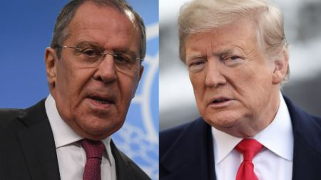 President Trump to meet with Russian foreign minister Tuesday