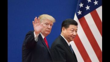 Trump signs first stage of trade deal with China