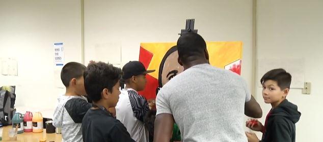 NBCares: BAM – Boys Art Mentoring