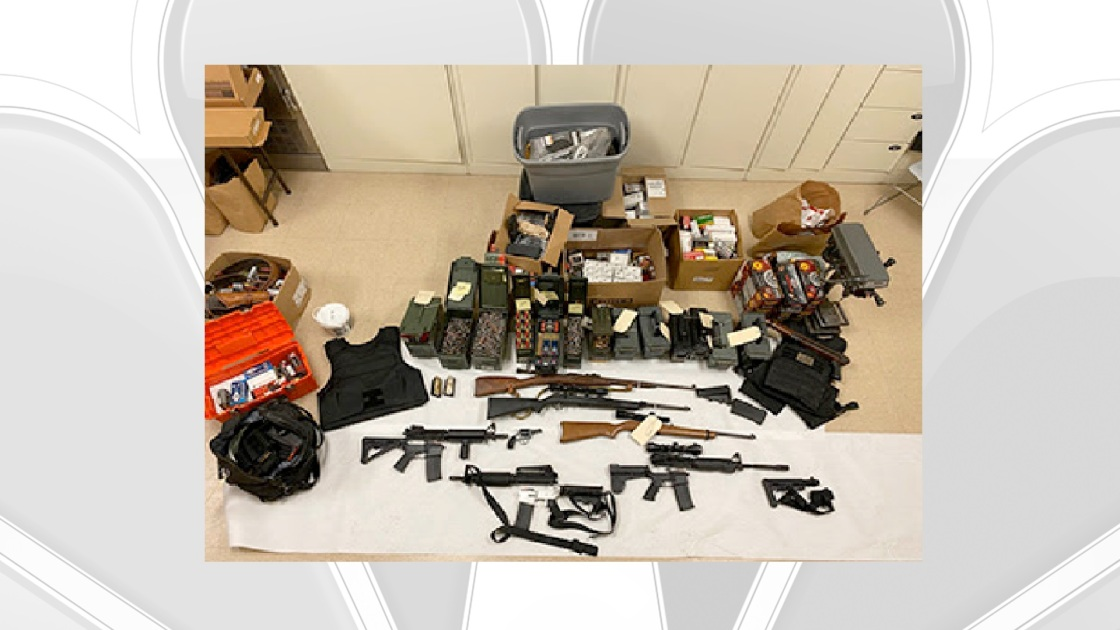 Guns, Body Armor, 10,000 Rounds of Ammo Seized From Coachella Home