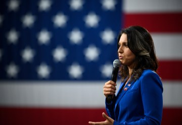 Tulsi Gabbard sues Hillary Clinton for defamation over Russia remarks