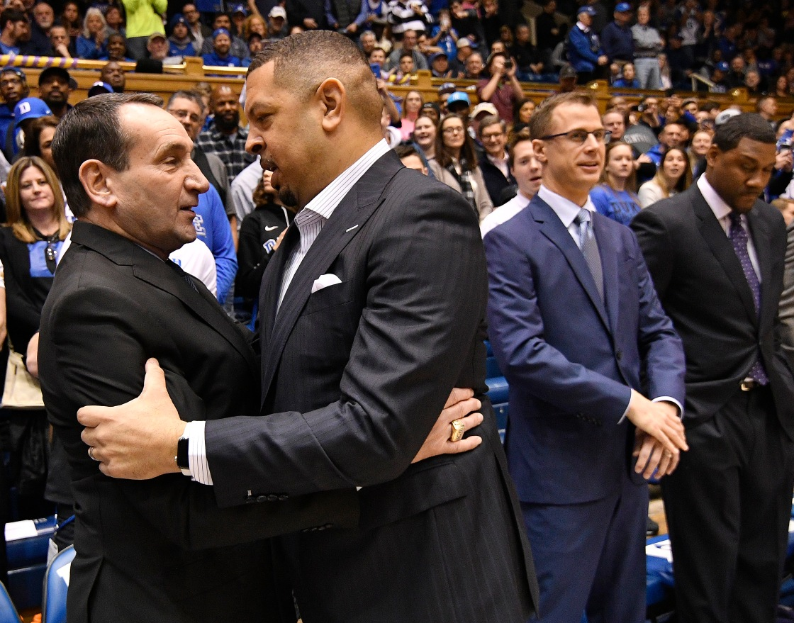 'Shut up!' Duke's Coach K yells at his own Cameron Crazies after chant during Pitt game