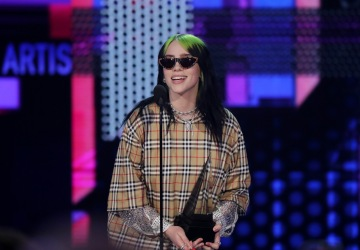Billie Eilish wrote and performed the new James Bond theme song. She's the youngest artist to do so
