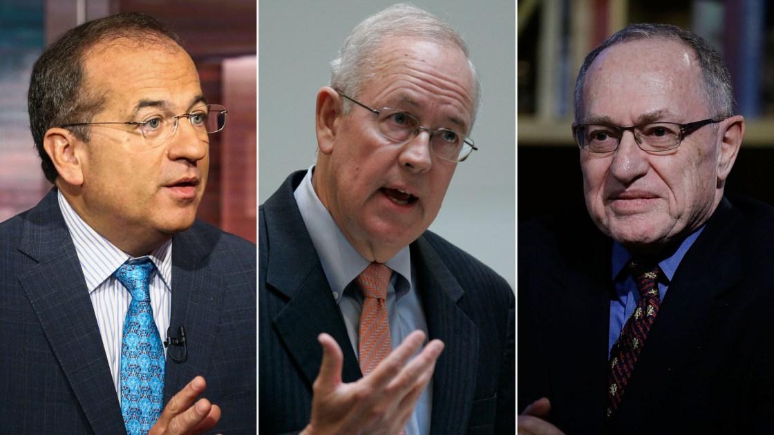 Trump adds Ken Starr and Alan Dershowitz to impeachment defense team