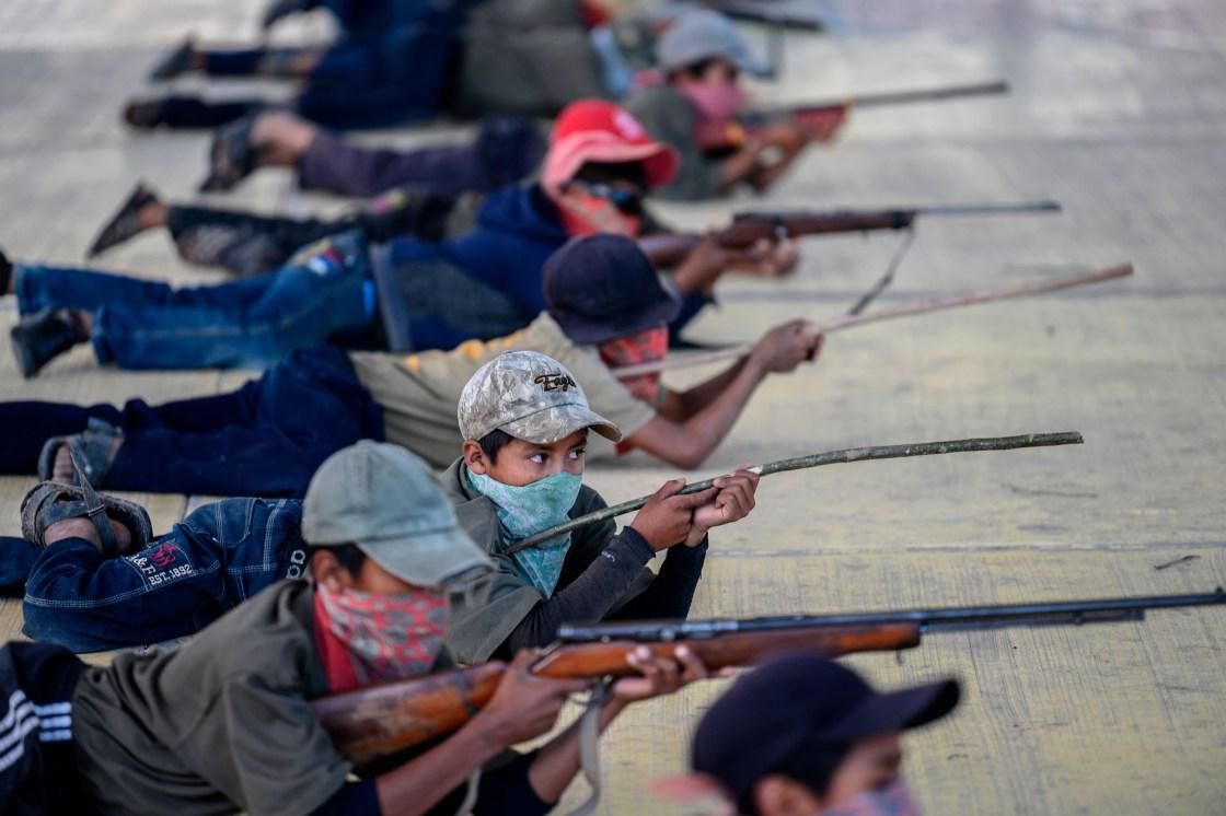 Children are joining a self-defense militia in Mexico