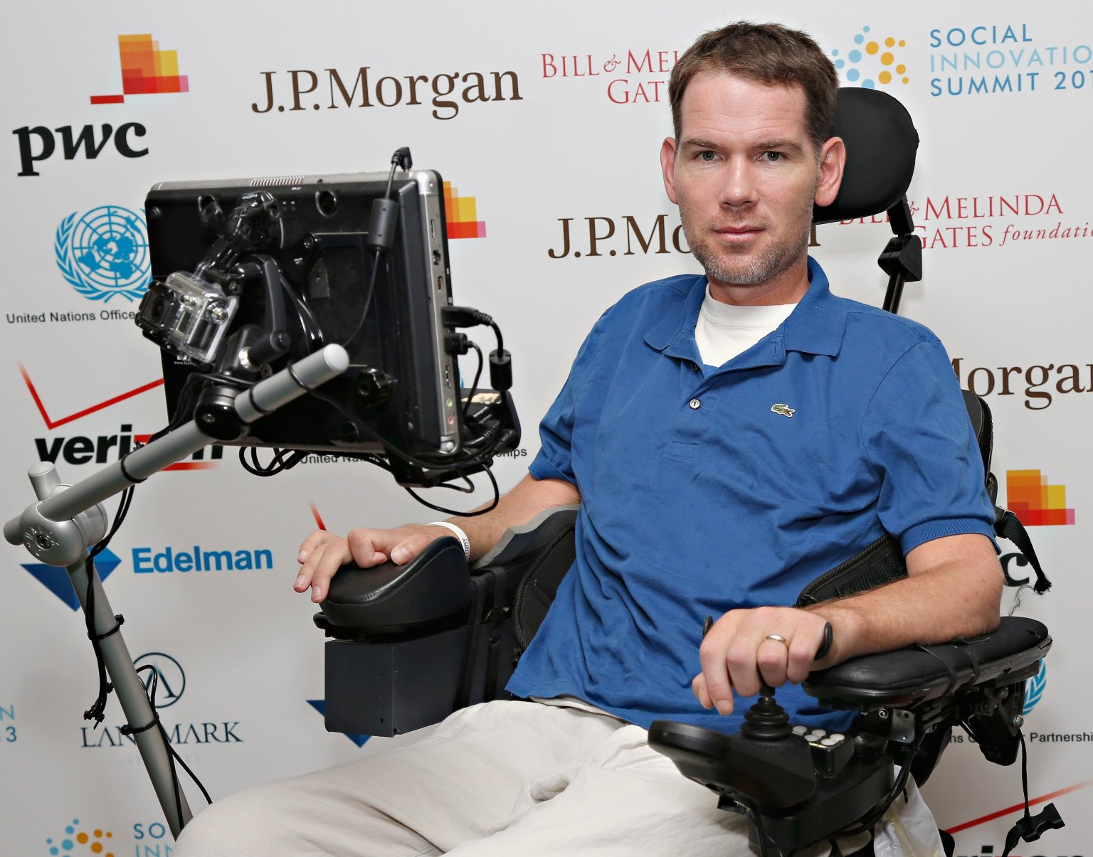Former NFL Safety Steve Gleason is being awarded the Congressional Gold Medal