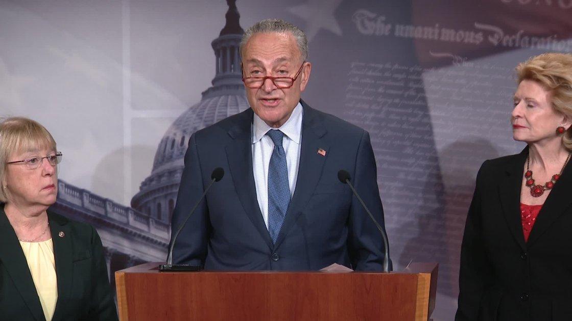 Senate impeachment trial: Republicans vote to table Schumer amendment seeking documents