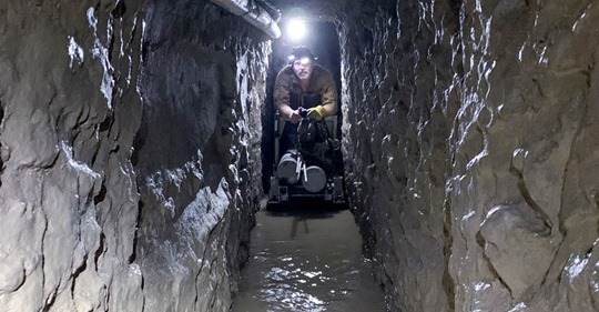 Longest-ever smuggling tunnel found on Southwest border