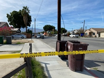 Investigators Continue Searching Coachella Home