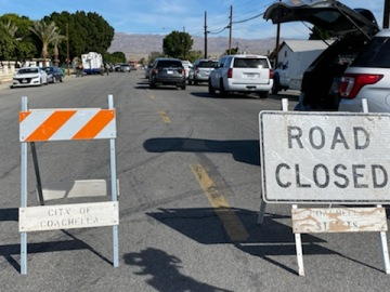 Ongoing Investigation Closes Coachella Street