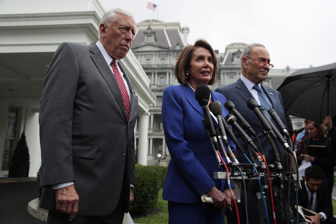 Democratic congressional leaders shut down talk of censuring Trump