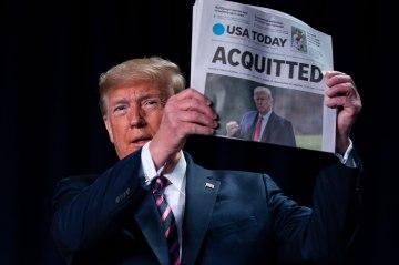 President Trump begins vindictive impeachment victory lap after acquittal