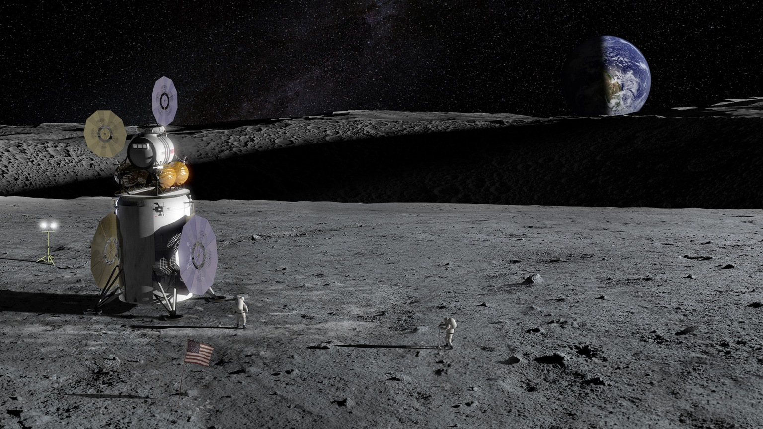 Trump seeks billions more for NASA to get US astronauts on the moon by 2024