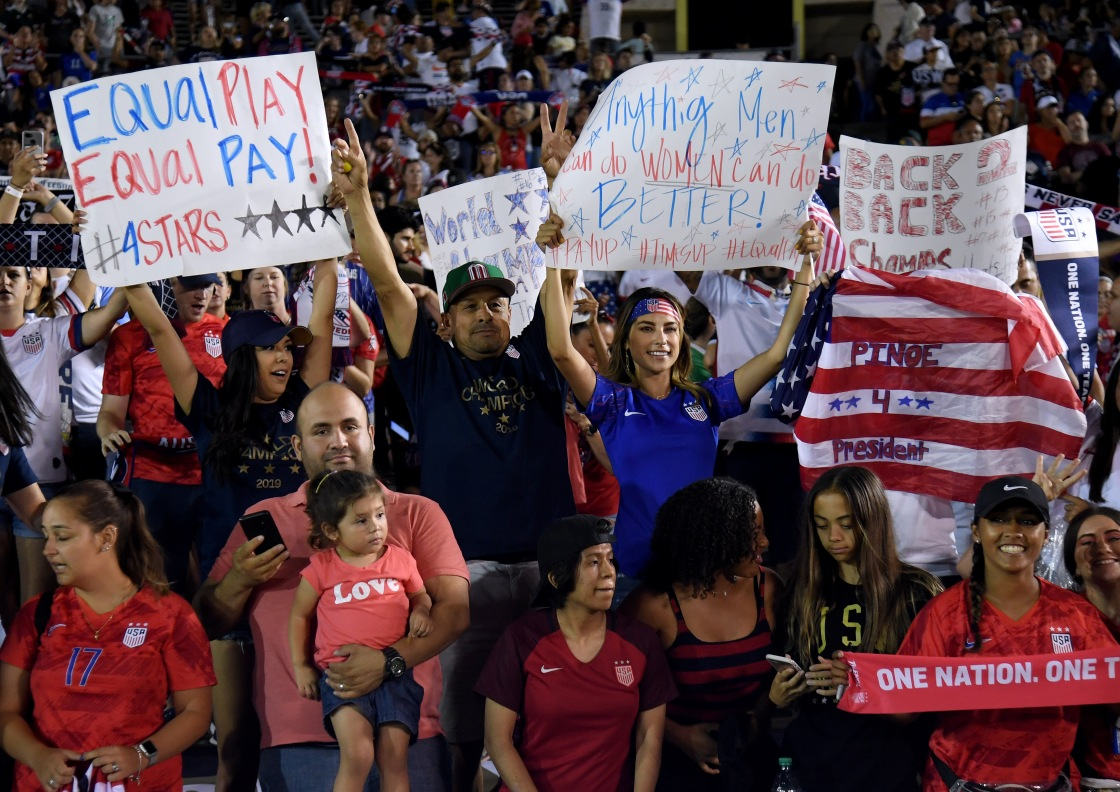 US Soccer argues against equal pay in lawsuit by saying men have 'more responsibility'