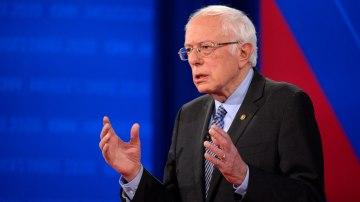 Democratic candidates look to halt Bernie Sanders' momentum in last debate before major primary contests