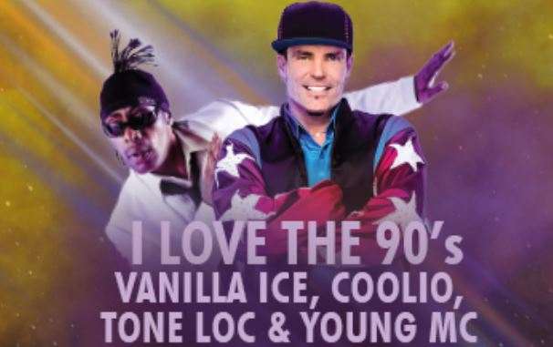 '90s Concert at County Fair To Include Coolio, Vanilla Ice