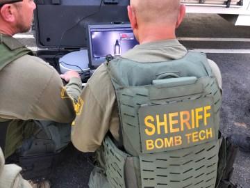 RSO Bomb Squad Responds to WW 2 Explosive in Lake Elsinore
