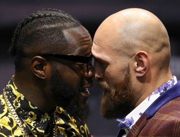 'Hungry lion' Tyson Fury promises to knock out Deontay Wilder in their much-anticipated rematch