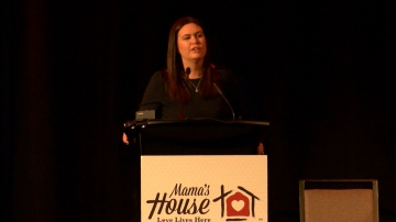 Sarah Huckabee Sanders, Featured Speaker at Mama's House Major Fundraiser