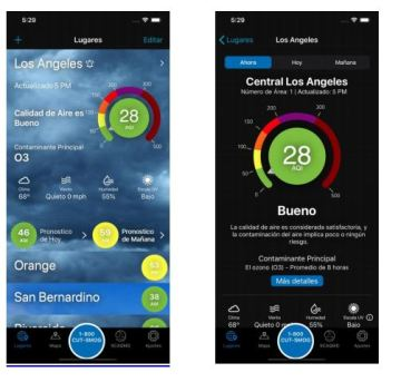 South Coast AQMD Releases Spanish Language App