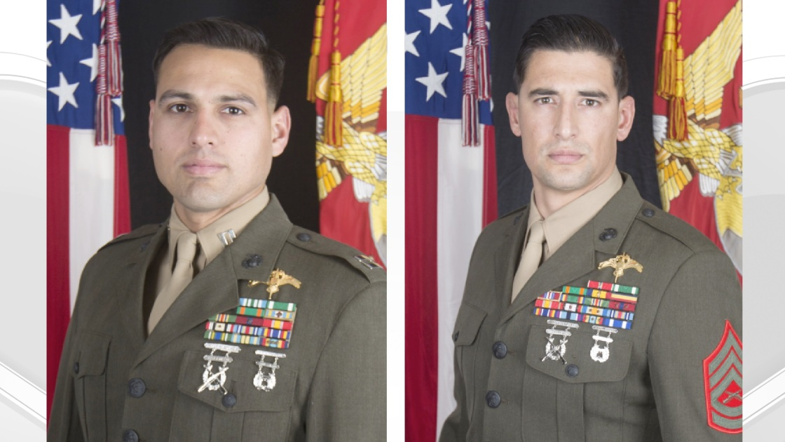 Pentagon identifies Marines killed in 'intense' clash with ISIS fighters in Iraq