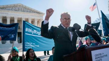 Schumer says he used the wrong words following Supreme Court backlash