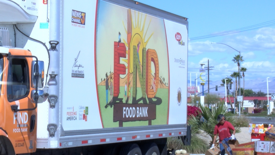 Food Bank Feeds Coachella Valley During Crisis