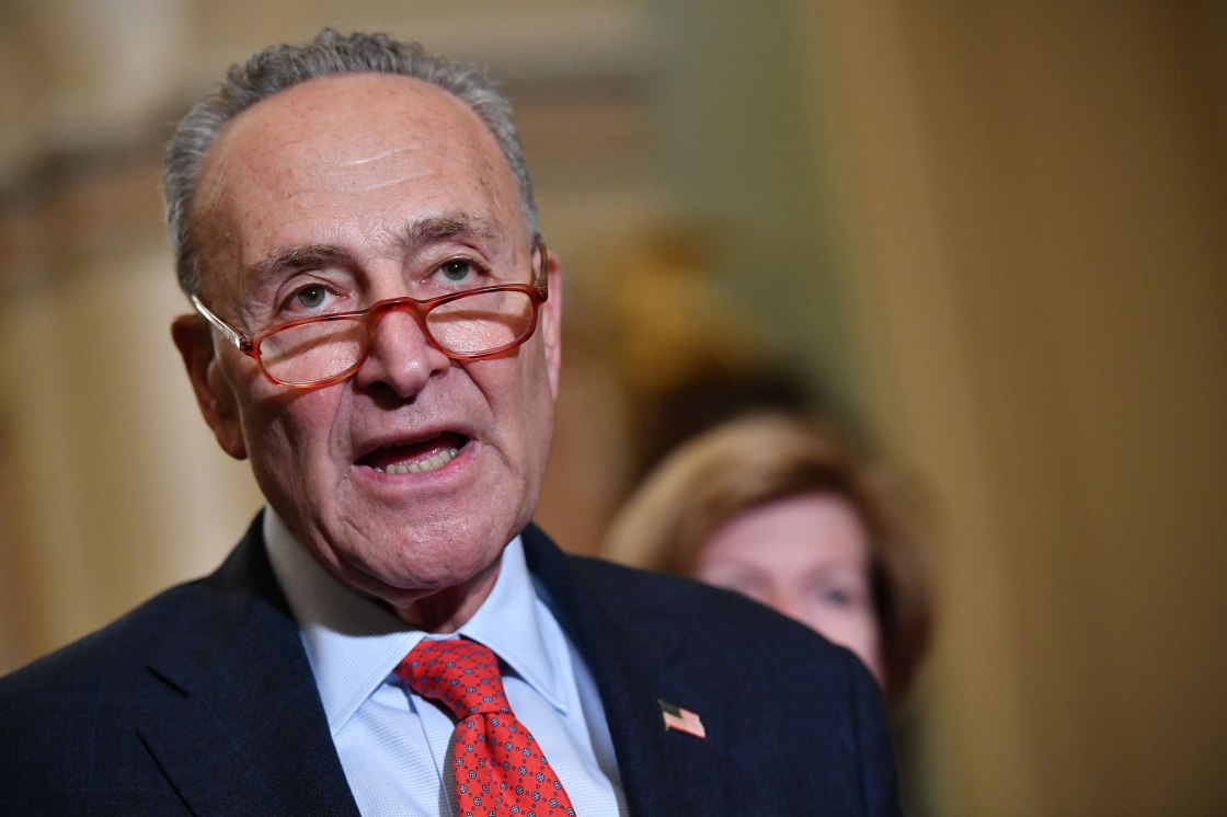 Schumer, other senators to ask Trump to issue national emergency declaration for coronavirus
