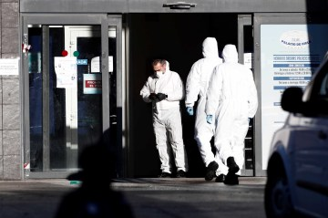 Spain turns ice rink into a morgue as coronavirus deaths pile up