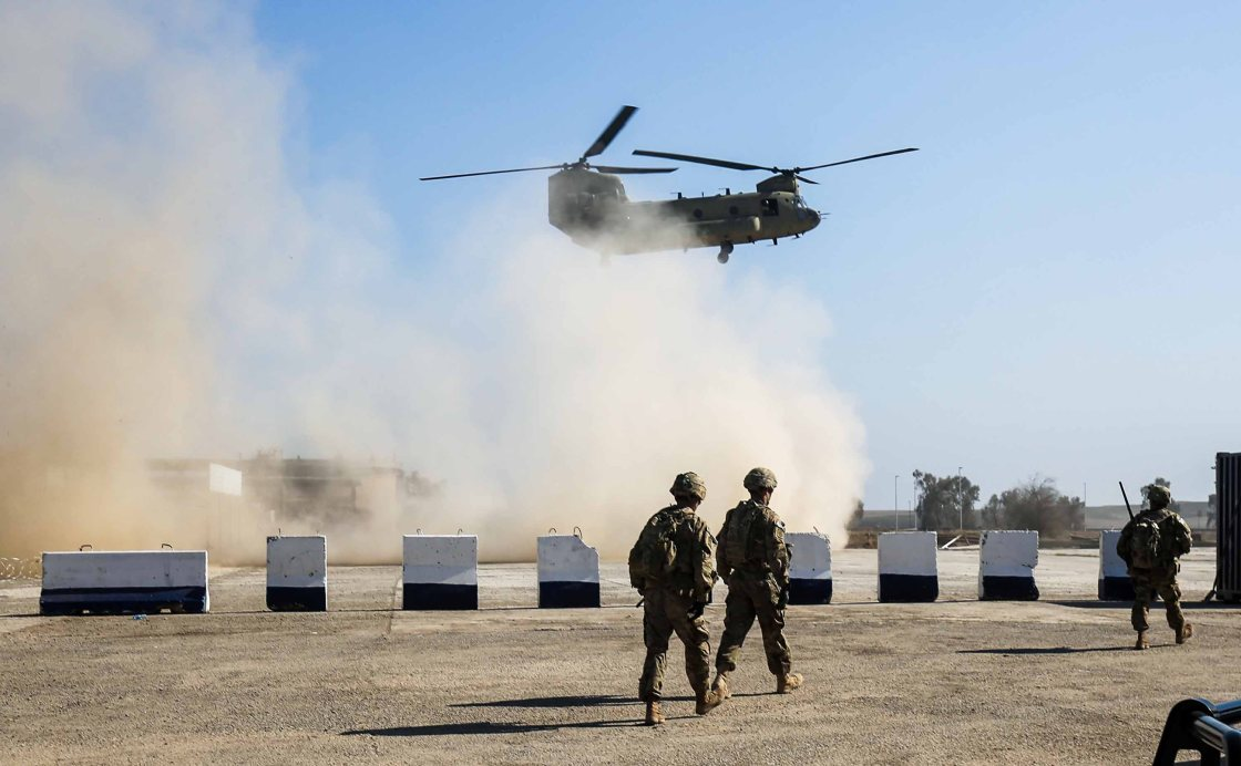 US-led coalition closing some bases in Iraq following rocket attacks