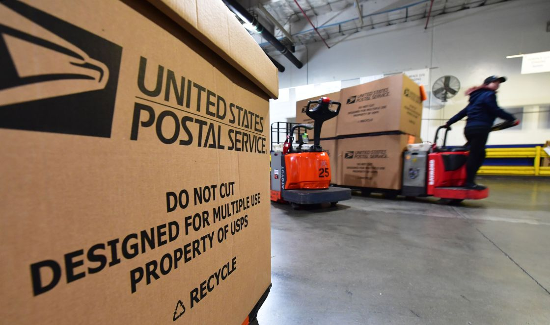 Mail services including the USPS and FedEx will continue delivering despite coronavirus