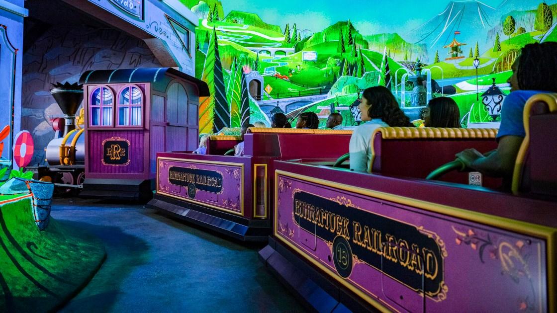 Mickey finally has his own ride at Disney World