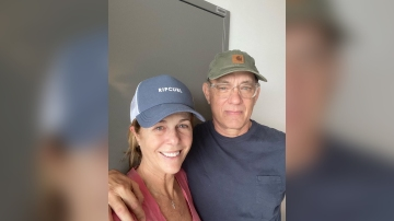 Tom Hanks and Rita Wilson want you to join the #CouchParty