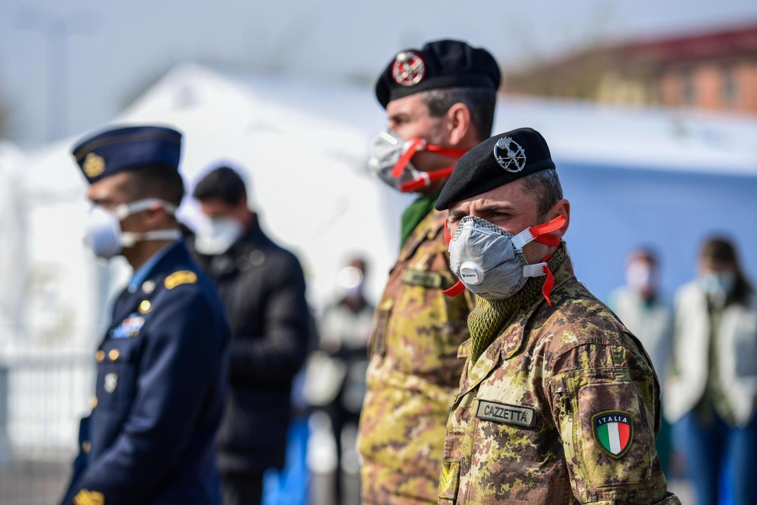 Italy records highest daily jump in coronavirus deaths