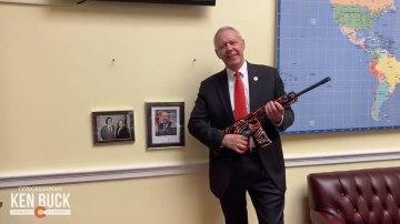 Republican congressman dares Joe Biden and Beto O'Rourke to 'come and take' his AR-15