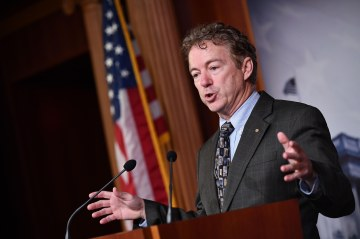Rand Paul is first senator to test positive for coronavirus