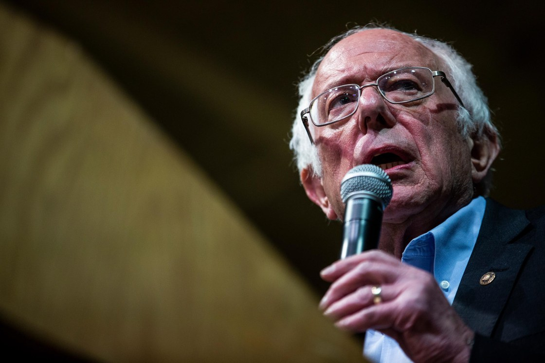 Bernie Sanders says he is 'assessing' his presidential campaign
