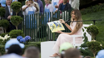 Melania Trump announces cancellation of White House Easter Egg Roll