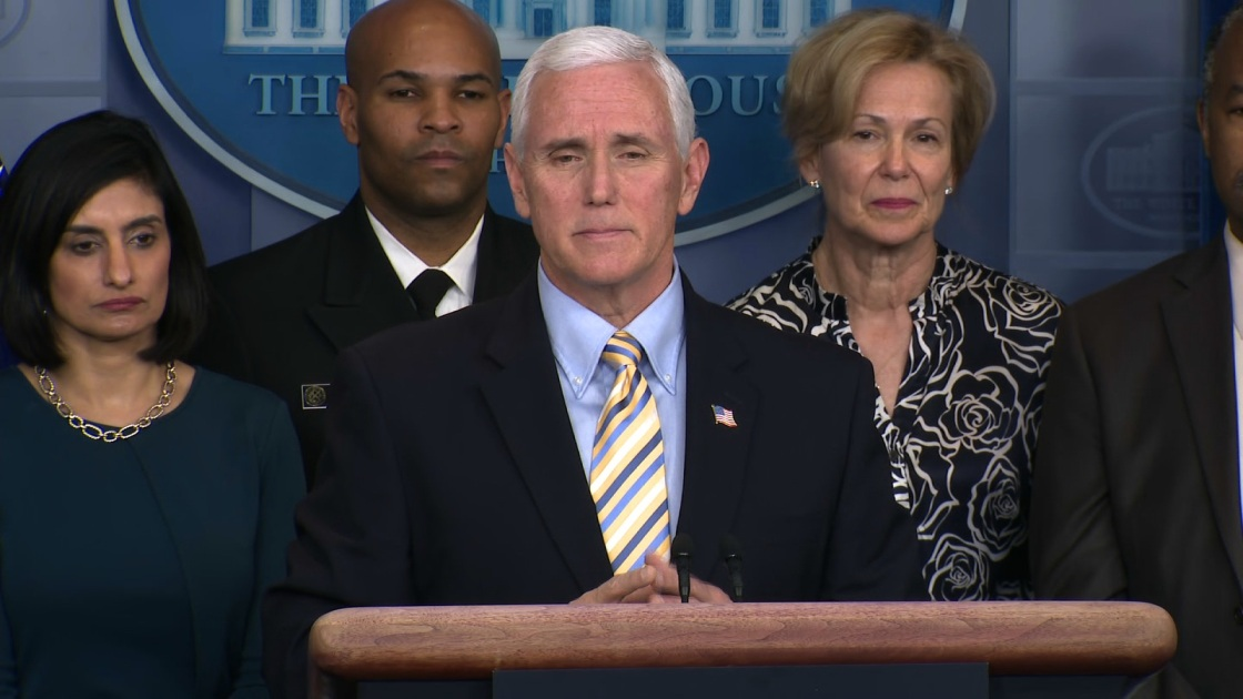 Staff member in Vice President Mike Pence's office tests positive for coronavirus