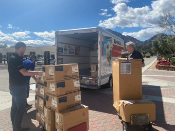 City of La Quinta Donates N95 Masks and Coveralls to Desert Regional