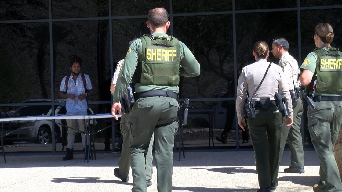 Riverside County Sheriff's Department Dealing With Loss and Enforcing Law in Uncertain Times
