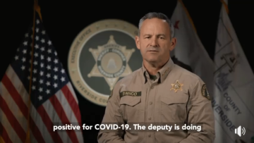 Sheriff's Department Sees Increase in Employee, Inmate COVID-19 Cases