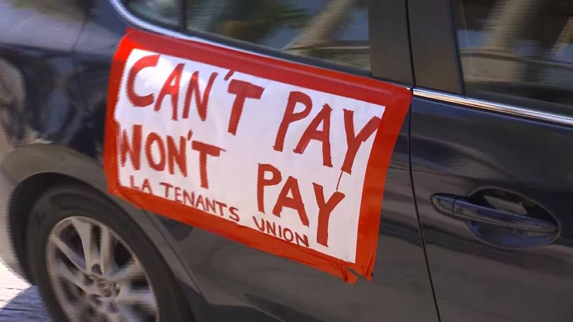 Nearly a third of Americans didn't pay April rent