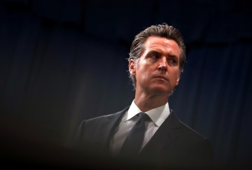 Newsom Hits `Emergency Brake' On Economic Activity Due To Virus Spread