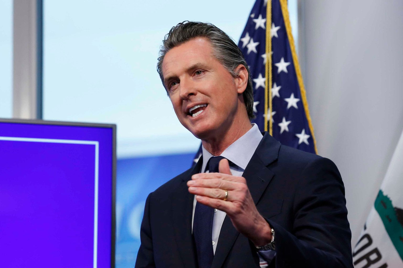 Gov. Newsom files lawsuit to be listed as Democrat on California recall ballot