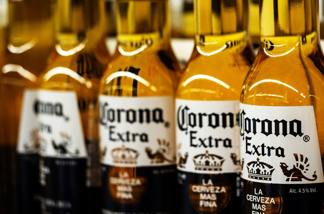 Corona beer stops production