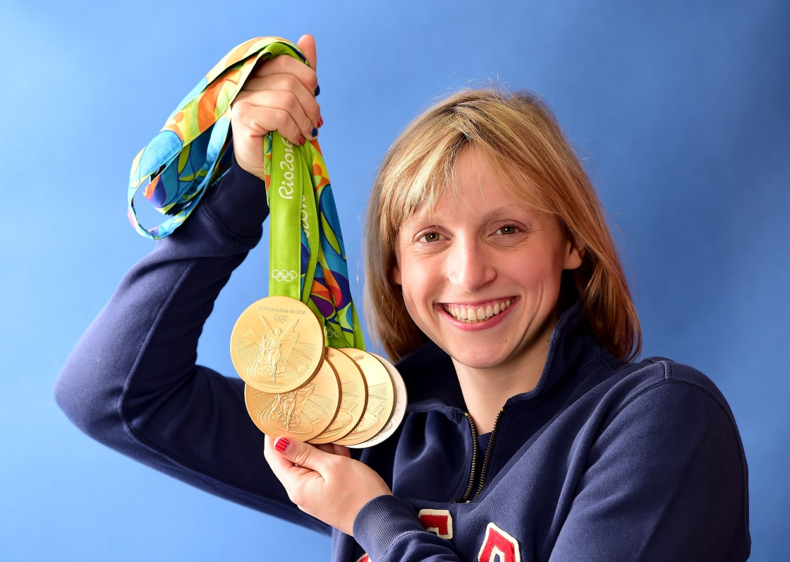 Katie Ledecky hoping next year's Olympics can be a celebration of 'the entire world coming together'