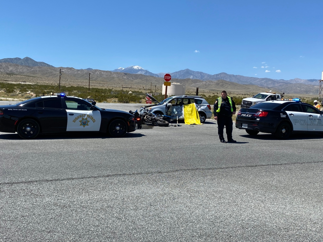 Motorcyclist Killed in Desert Hot Springs Crash Identified