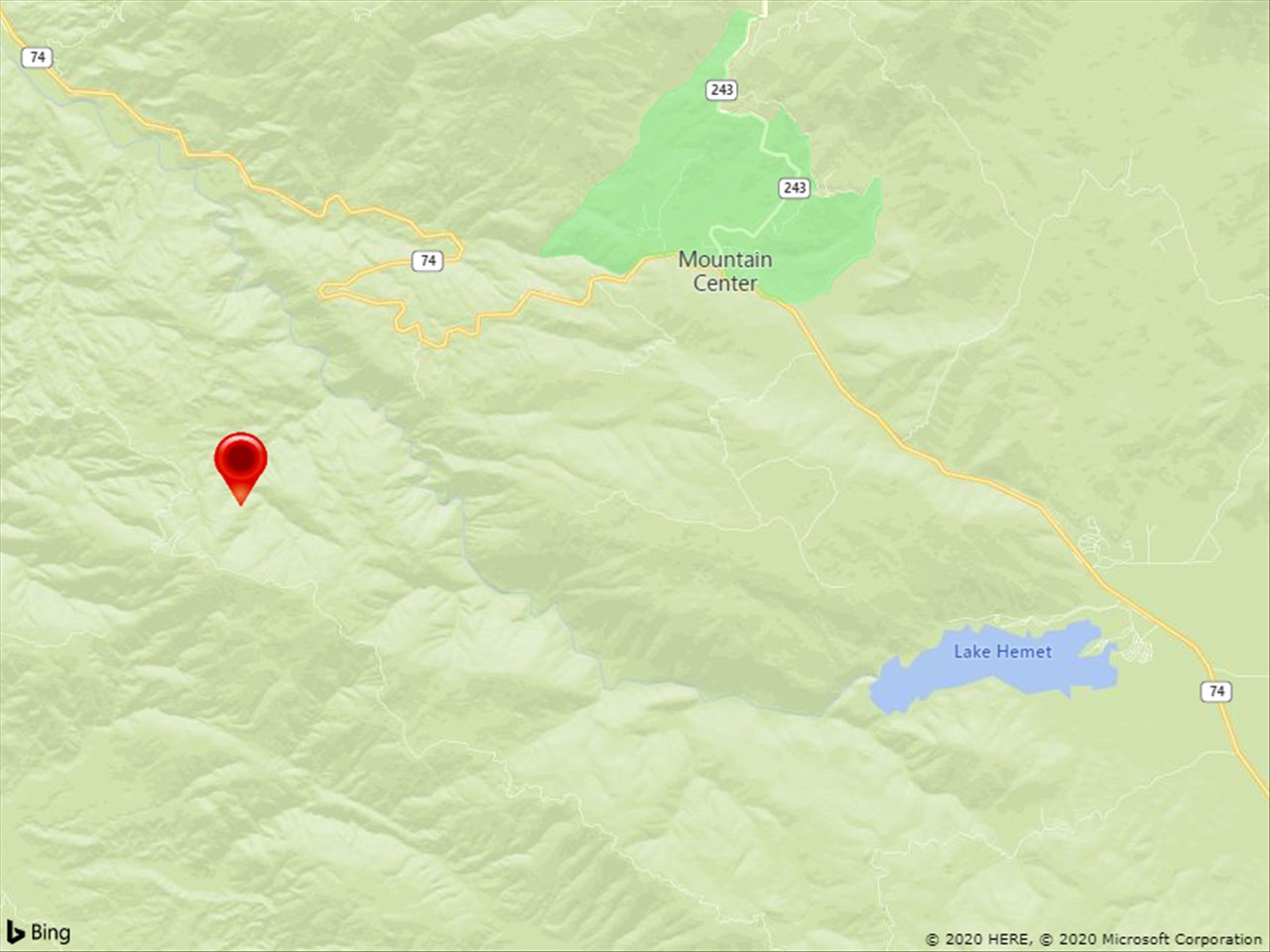 Twin-Engine Plane Crashes Near Mountain Center