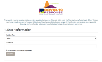 Riverside County launches mobile app to report nonessential businesses